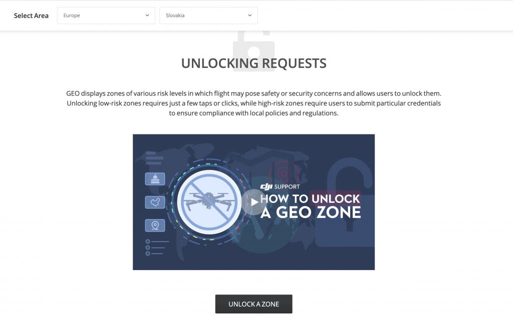 unlocking dron geo