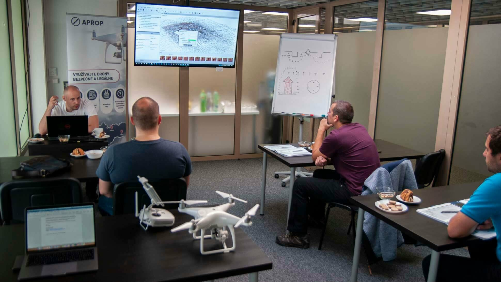 školenia dronov