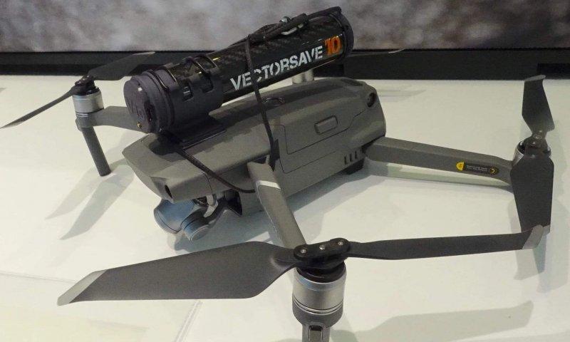 Padák na dron