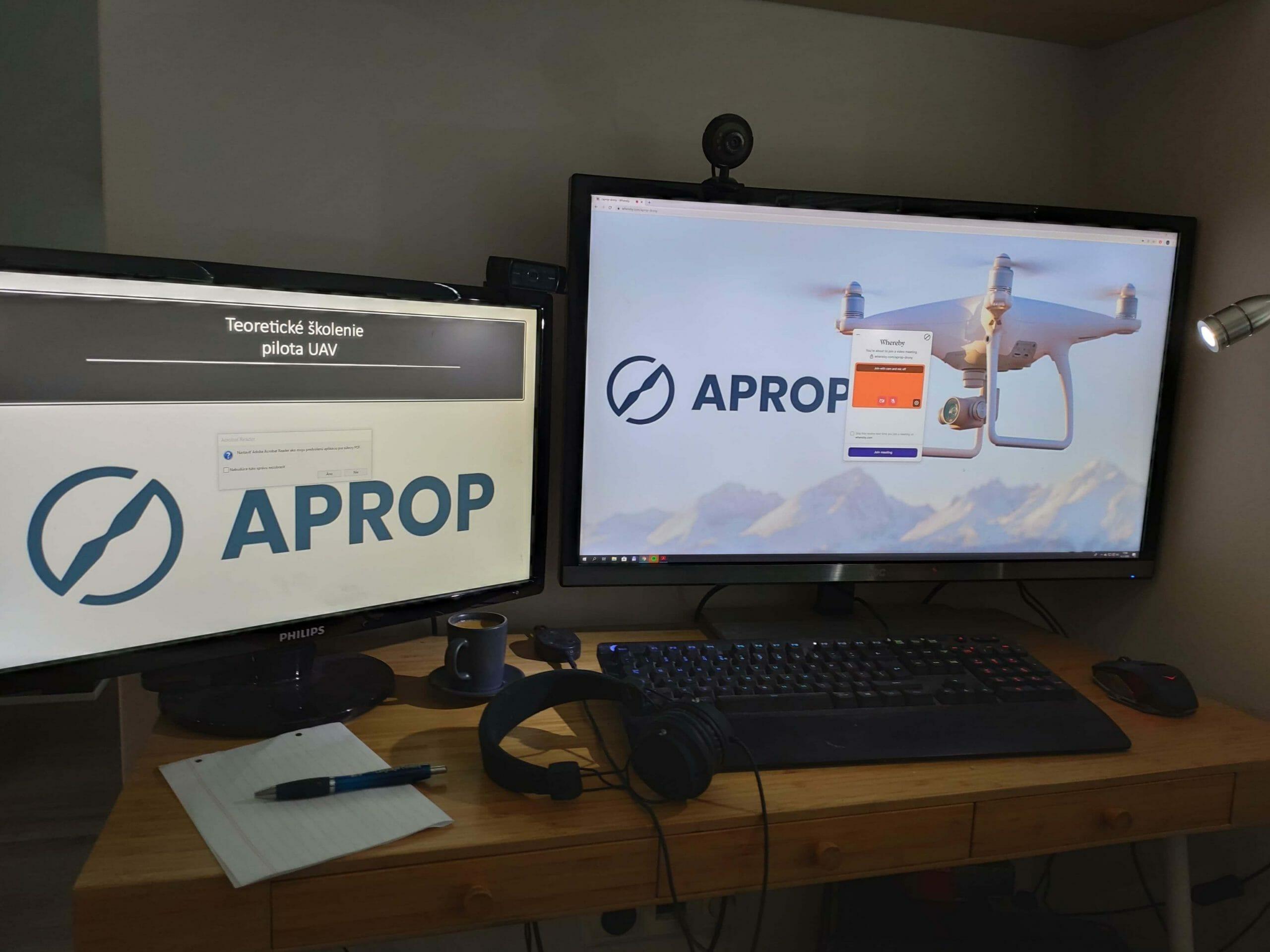 Online kurz pre drony