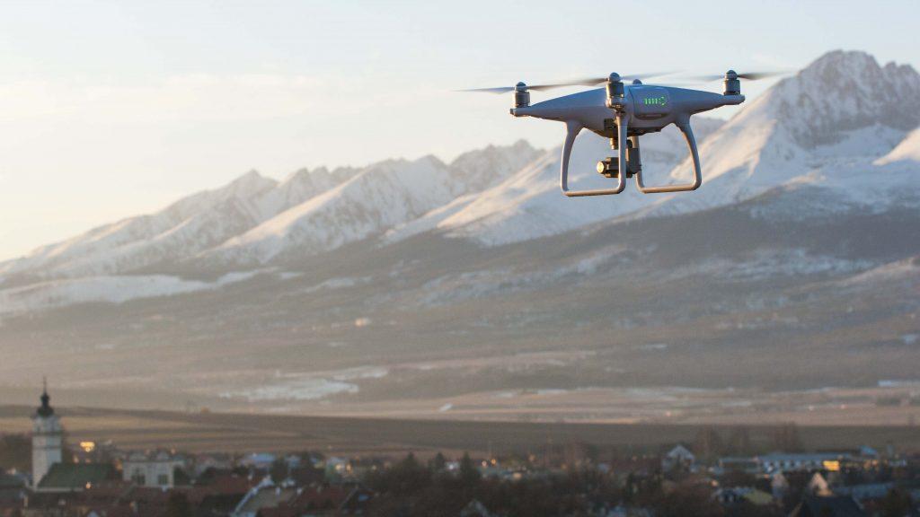 Dron panoráma Tatry
