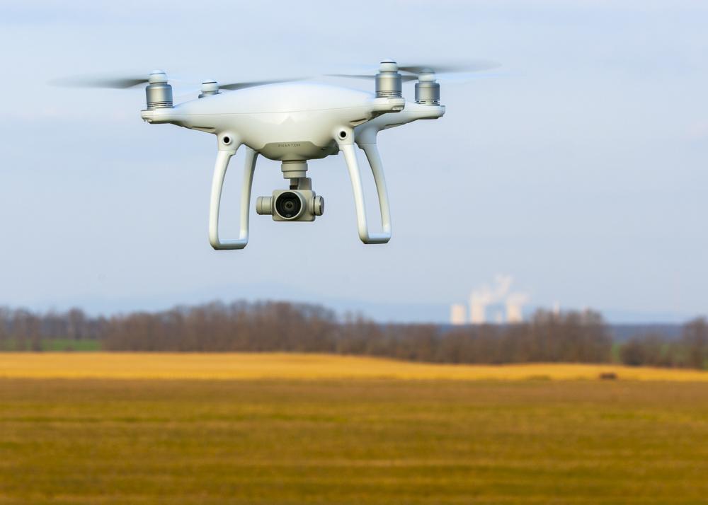 Dron záber
