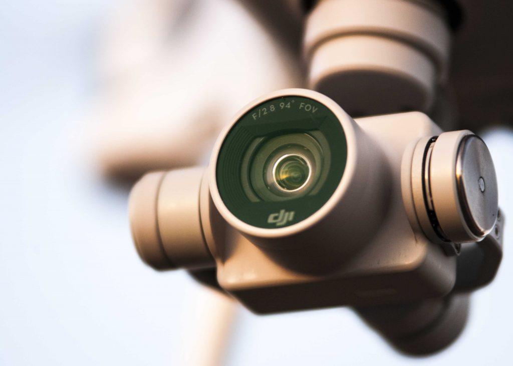 DJI dron kamera