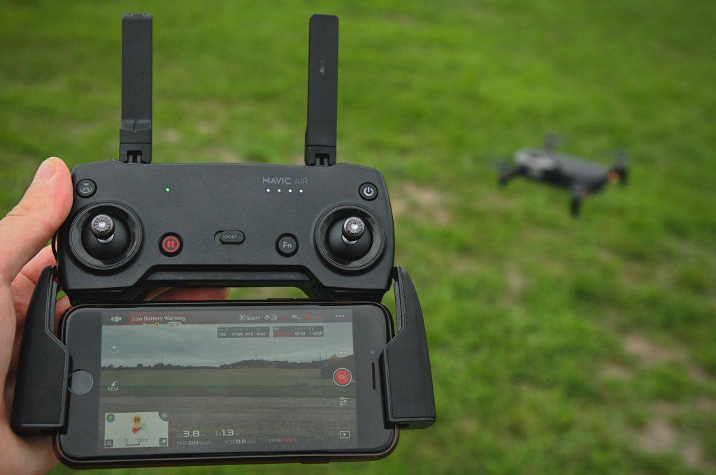 Dron prenos telfón
