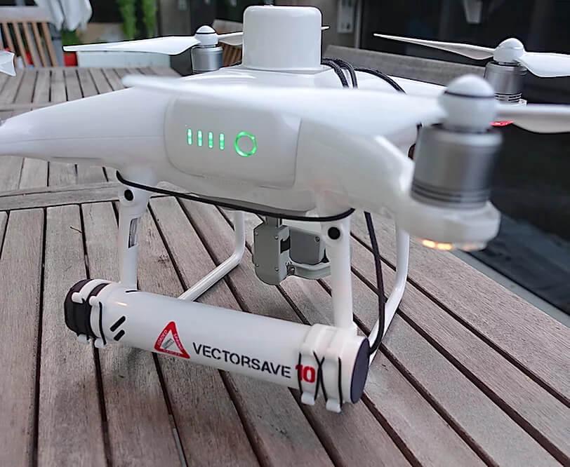 Vectorsave padák na dron
