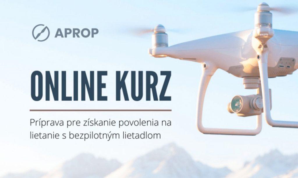 Dron online kurz profi bezpilotný