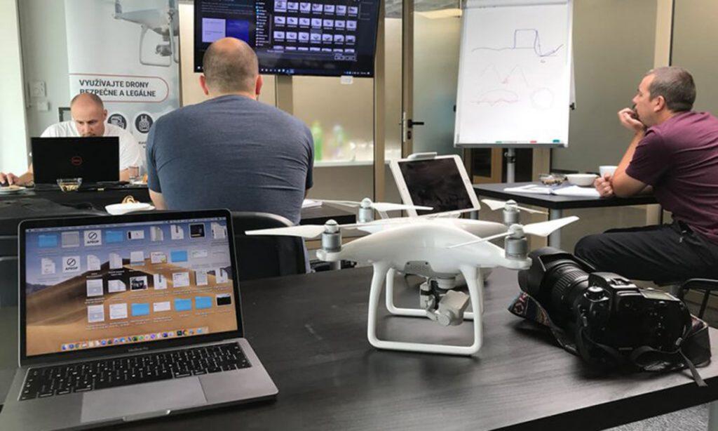 Školenie dron legálne použitie drona