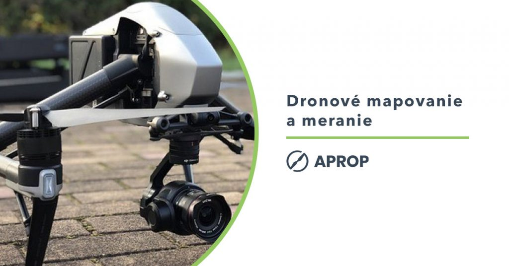 Titulný obrázok článku o využití mapovania a merania s dronom v praxik