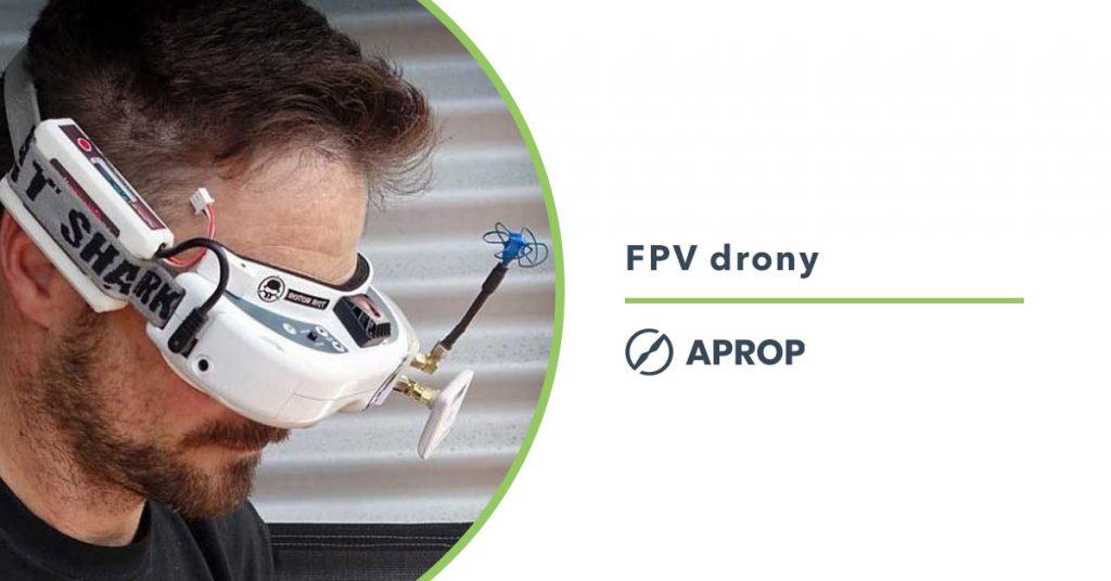 Titulný obrázok k článku o využití FPV dronov na Slovensku