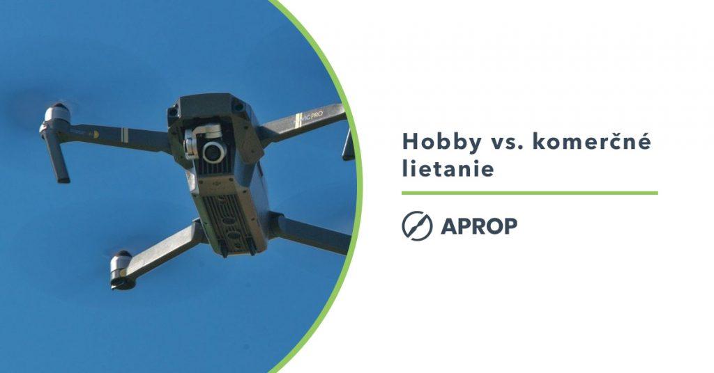 Titulný obrázok k článku o rozdiely medzi hooby a profesionálnym leitaním s dronom