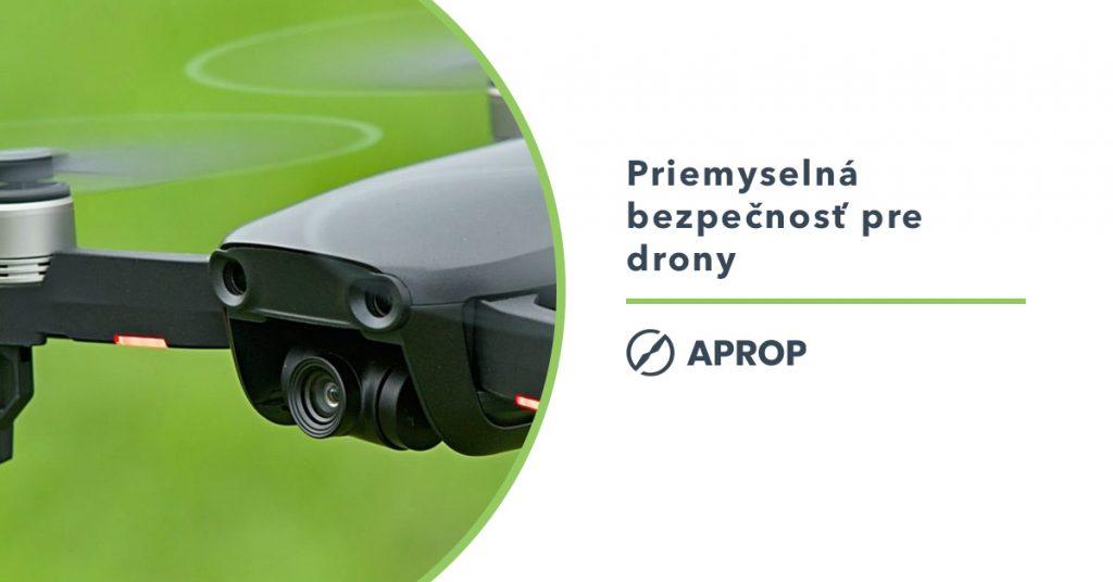 Titulný obrázok opisujúci čiastočné zrušenie povinnosti byť držiteľom priemyselnej bezpečnosti pre využívanie dronov