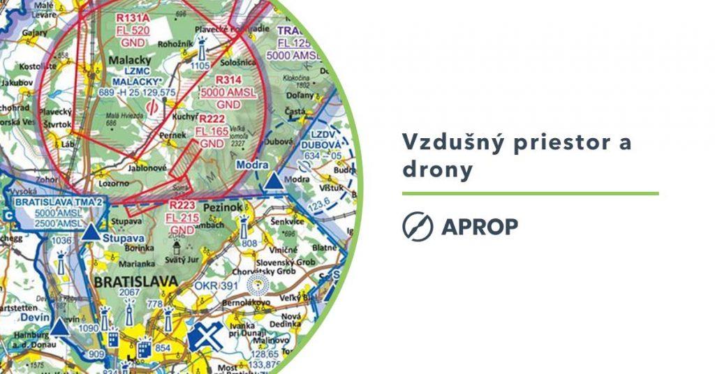 Titulný obrázok k článku vysvetľujúcemu vzdušné priestory ktoré musí piloto dronov dodržiavať