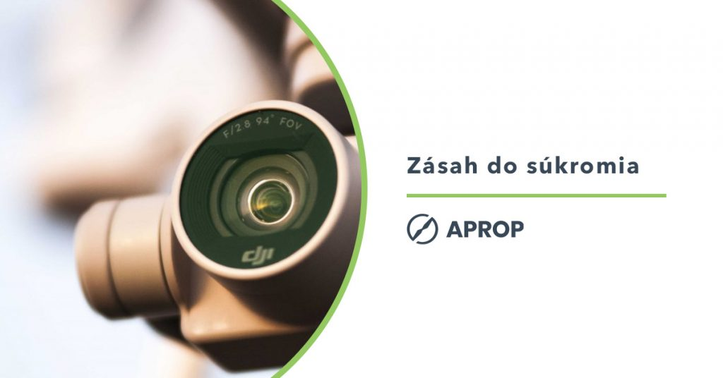 Titulný obrázok k článku o zásahu do súkromia pro fotení z dronu