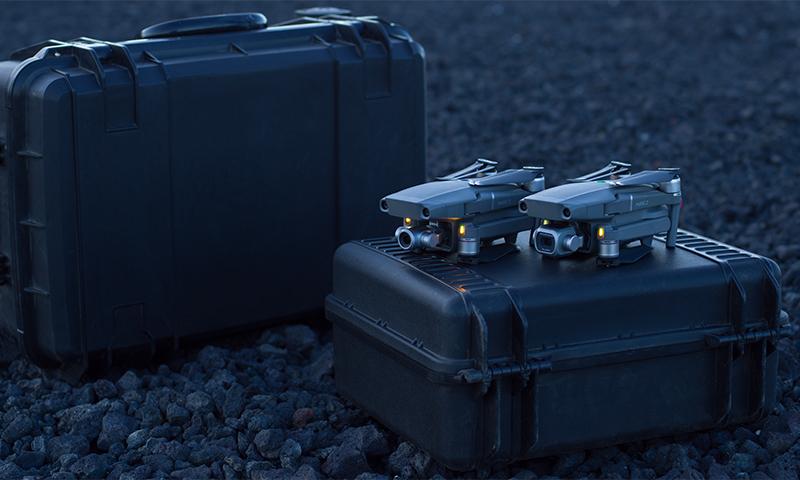 Príprava dronov pre zábery využité pre fotogrametriu pre geodetov a architektov