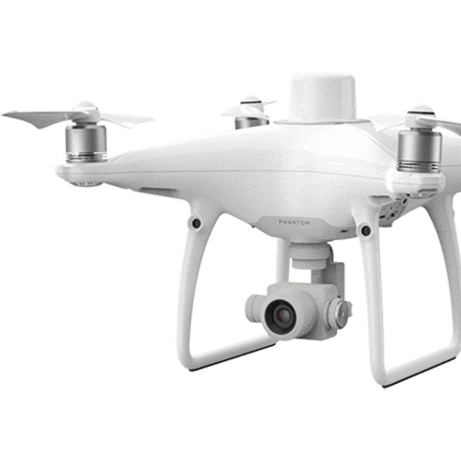 Profesionálny dron Phantom 4 RTK so širokým využitím pri meraní a mapovaní s RTK modulom